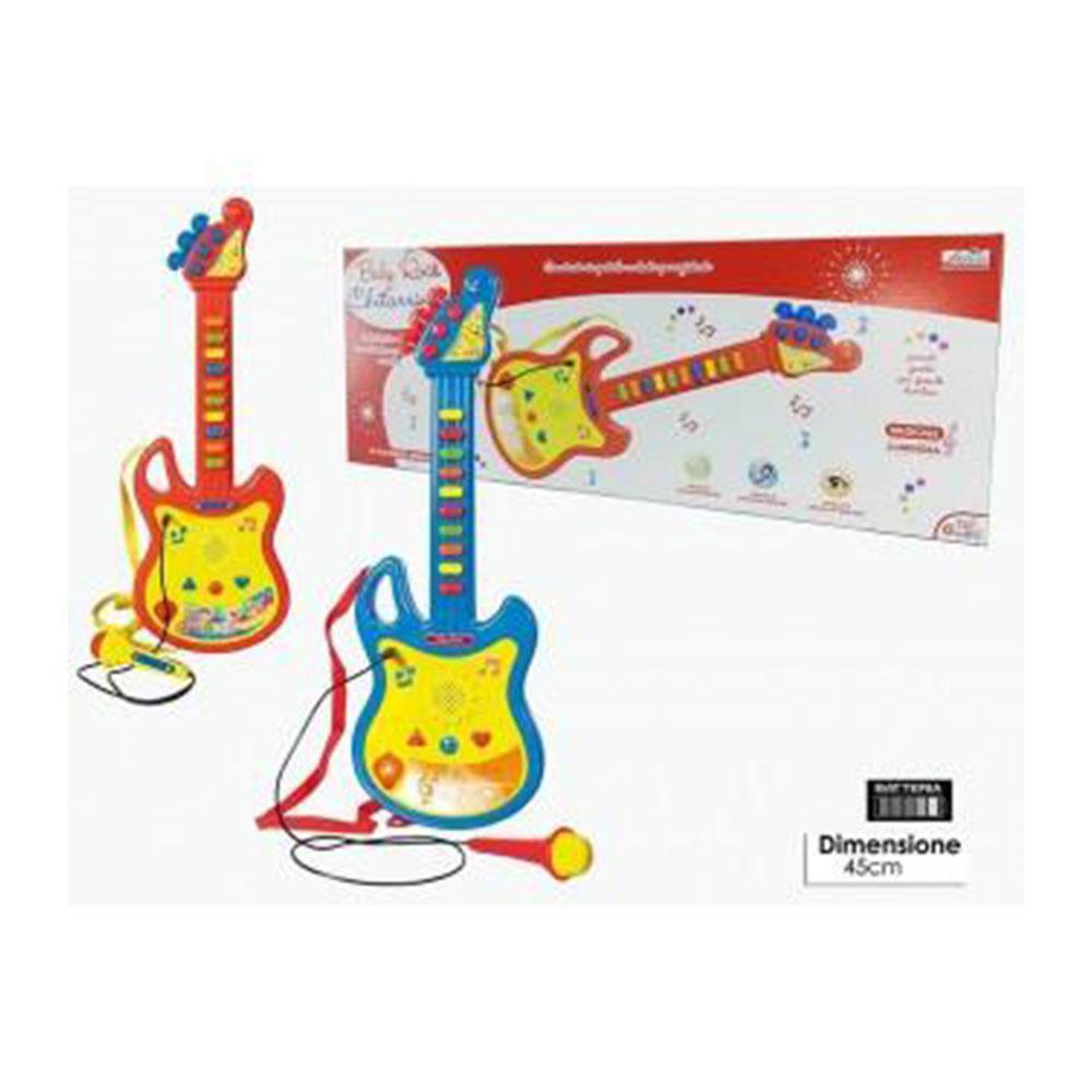 General Trade Chitarra Con Microfono Colori Assortiti Giocattolo