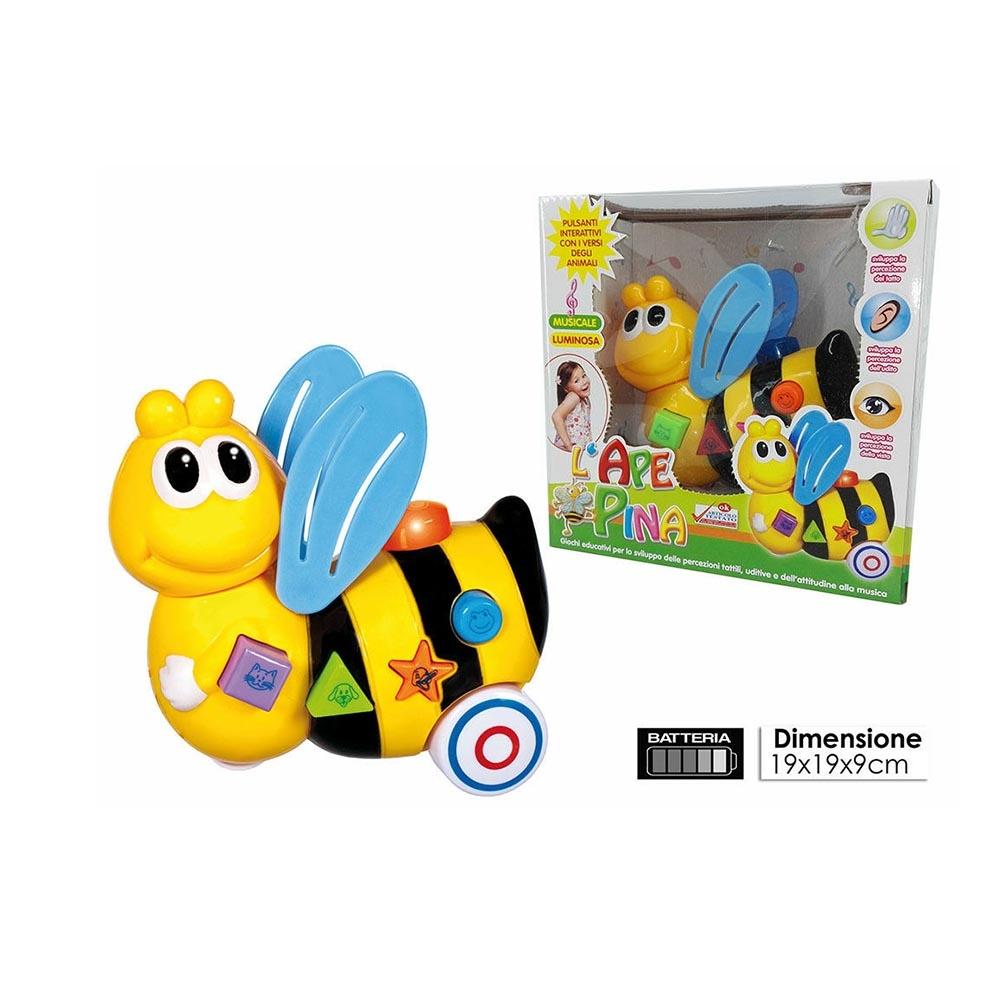General Trade L'ape Pina con Luci Suoni e Musica, Giocattolo per Bambini