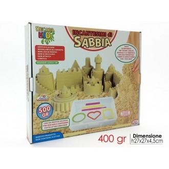 General Trade Giocattolo per Bambini Incantesimo di Sabbia 400g con Accessori