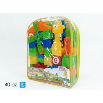 General Trade Costruzioni Giocattolo per Bambini 40 Pezzi