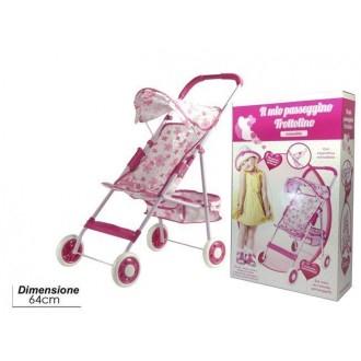 General Trade Giocattolo per Bambine Passeggino Trottolino Rosa