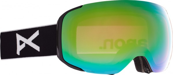 Maschera Snowboard Anon M2 MFI Black Green