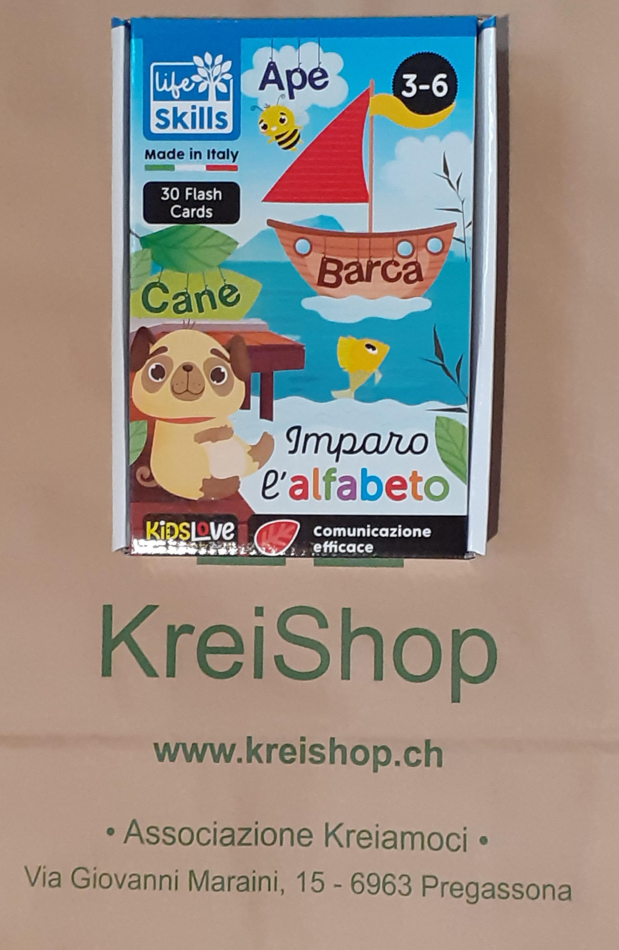 FLASH CARDS - Imparo l'Alfabeto