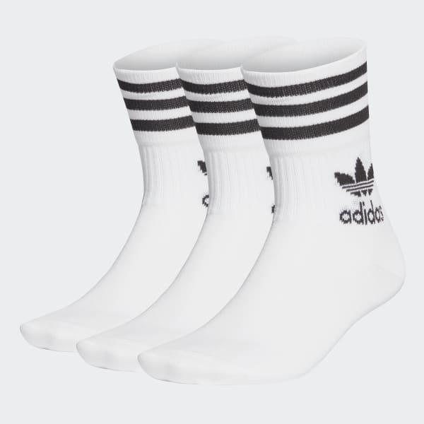 Calze adidas mid cut (3paia)