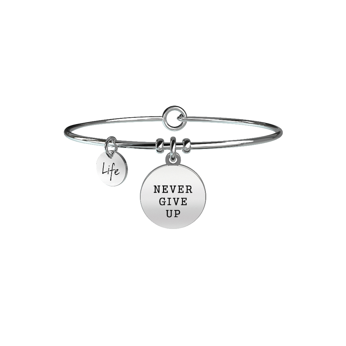 Bracciale Kidult Donna Philosophy NEVER GIVE UP | TENACIA