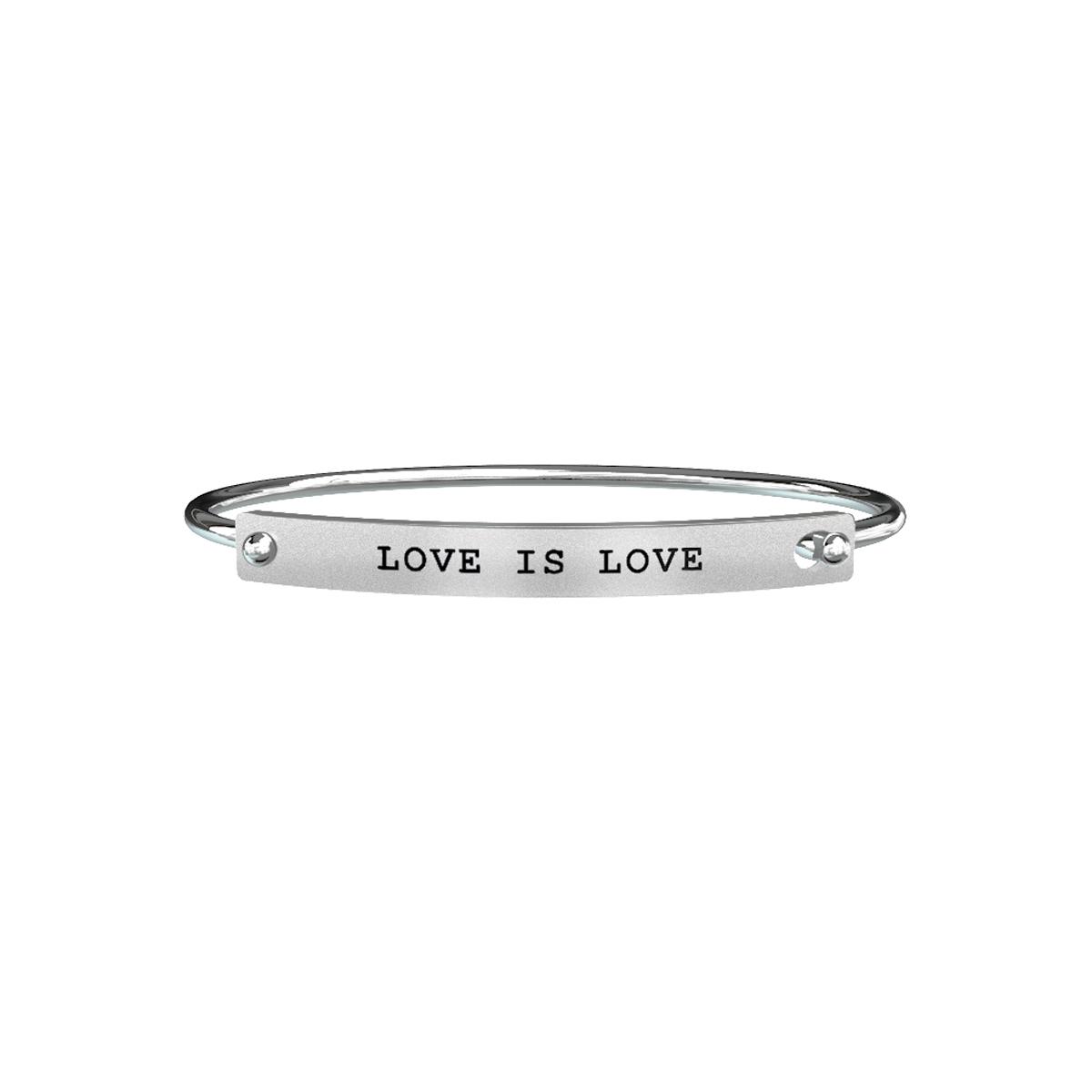 Bracciale Kidult Uomo Love LOVE IS LOVE