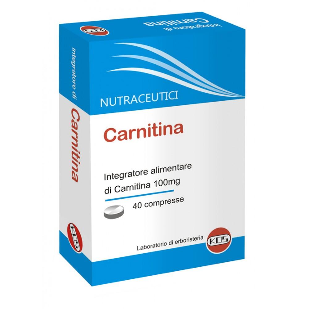 40 COMPRESSE CARNITINA