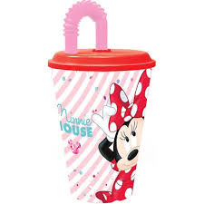 MINNIE BICCHIERE C/CAN.FLEXI 260 ML