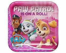 PAW PATROL PIATTO PIANO 22 CM
