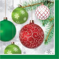 Tovaglioli decorati natalizi 33x33