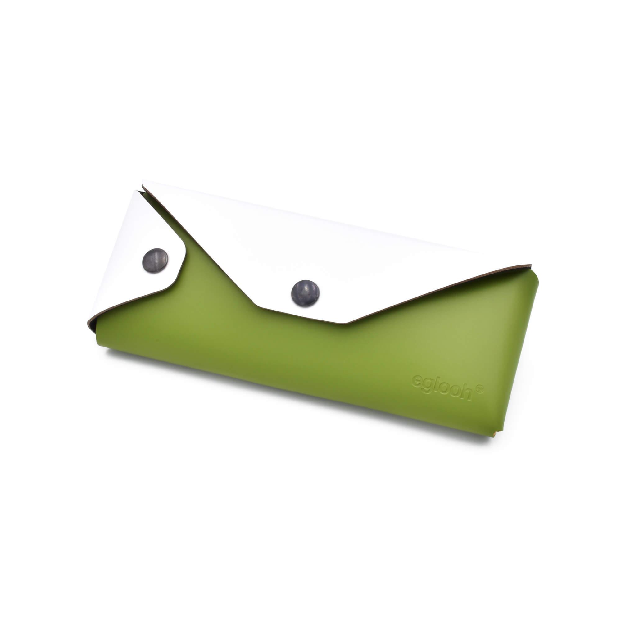 Astuccio Eros Verde / Bianco