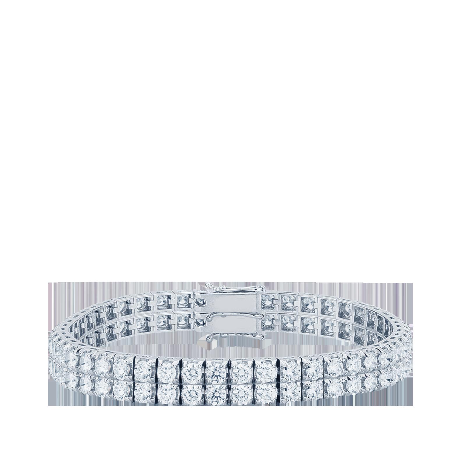 Bracciale Tennis Diamanti bianchi ct. 2,10