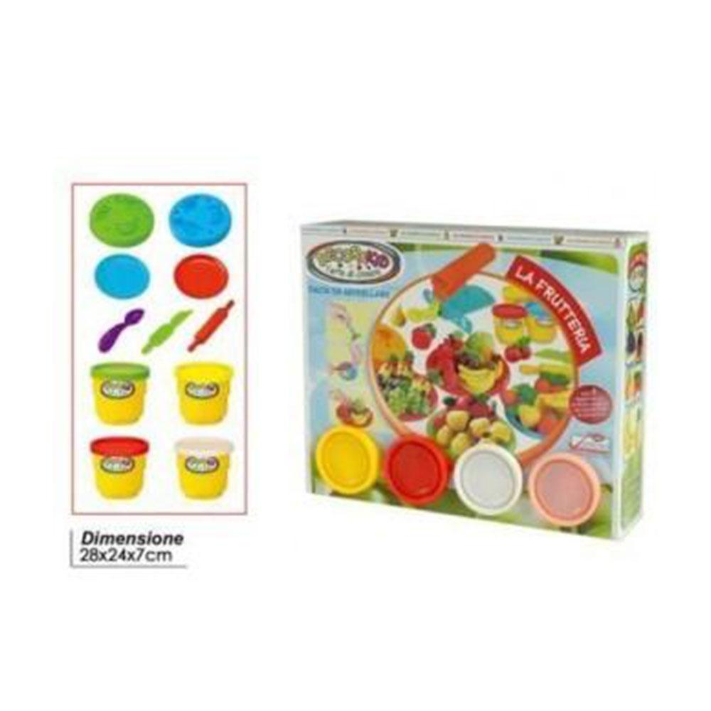 General Trade Decora Kids La Fruttiera Con Accessori Colorati Giocattolo
