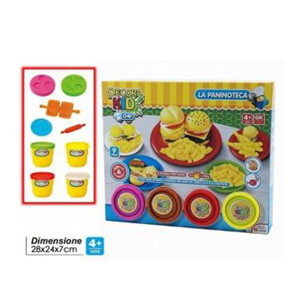 General Trade Decora Kids La Paninoteca Fare Panini Con Accessori Super Colorati e Dettagliati Giocattolo