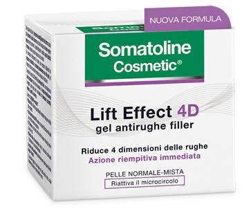 Somatoline Lift effect 4D gel antirughe filler 50ml
