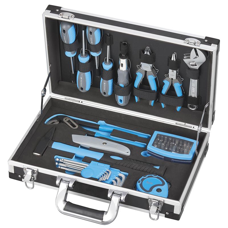 Fervi 0434 Valigetta con utensili ed accessori - 54 pezzi