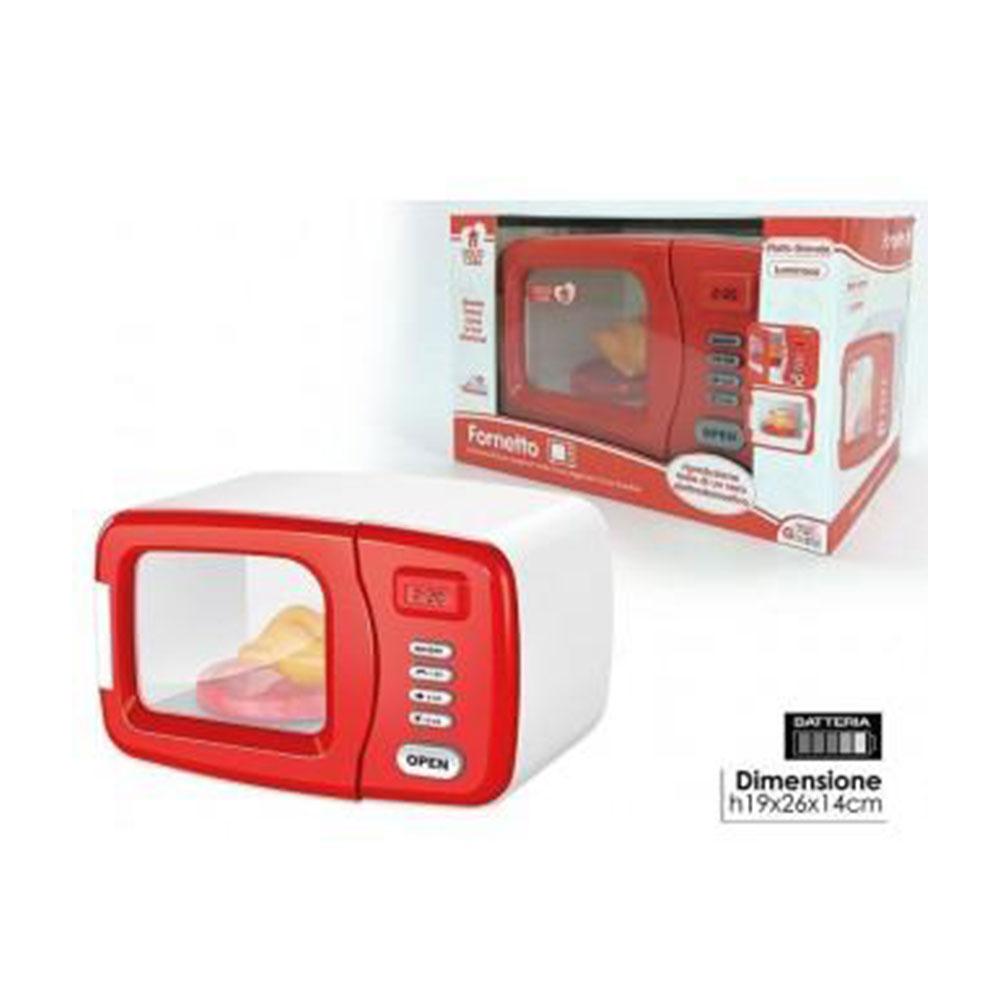 General Trade Dolce Casa Forno Con Accessori Cucinare Giocattolo Rosso Bambino Bambina