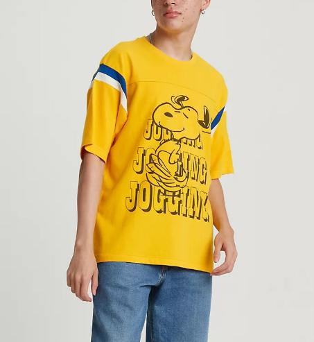T-shirt uomo LEVI'S X PEANUTS FOOTBALL TEE
