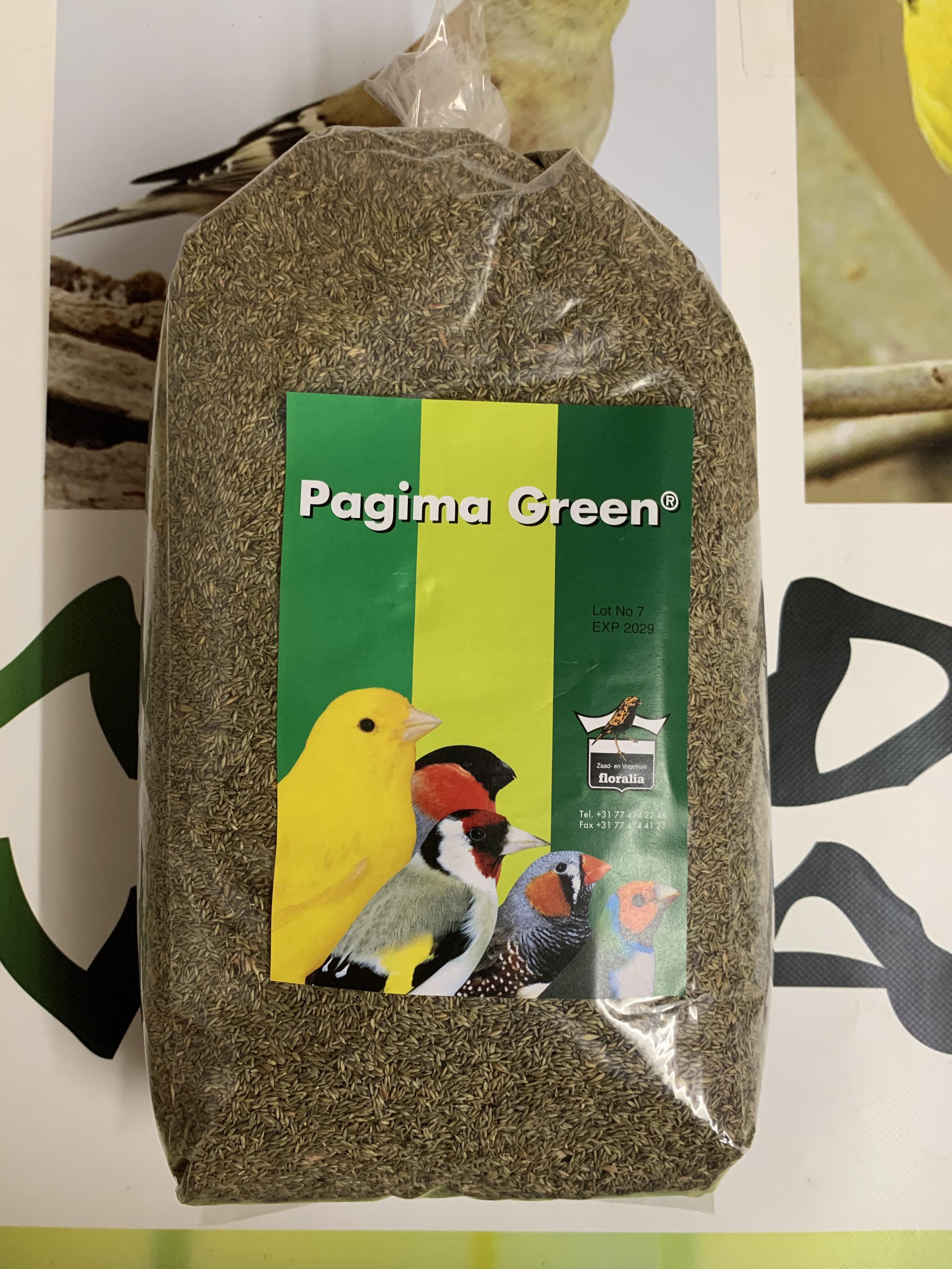 PAGIMA GREEN 750gr
