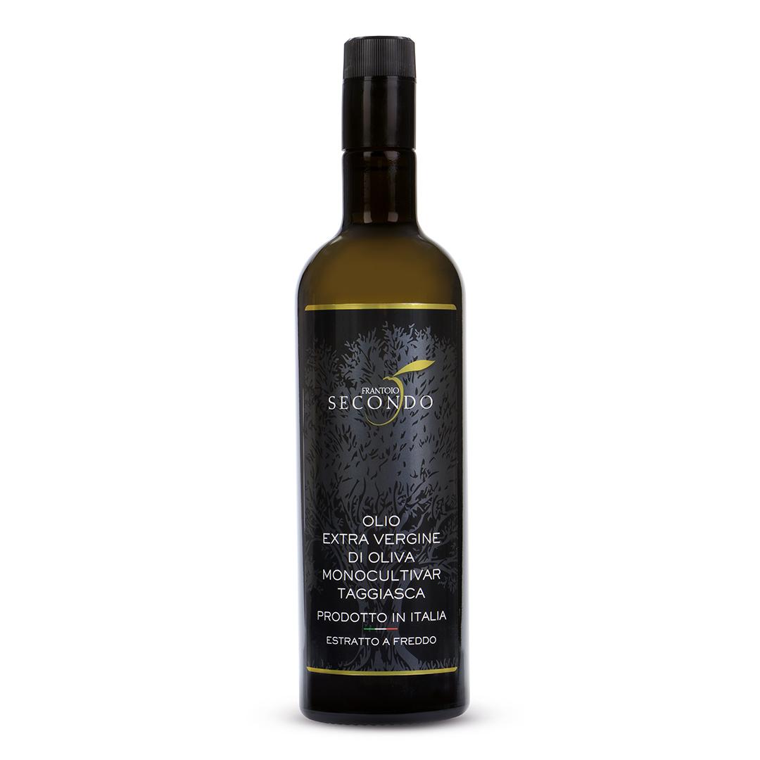 Olio extra vergine di oliva monocultivar Taggiasca da 0,75 lt