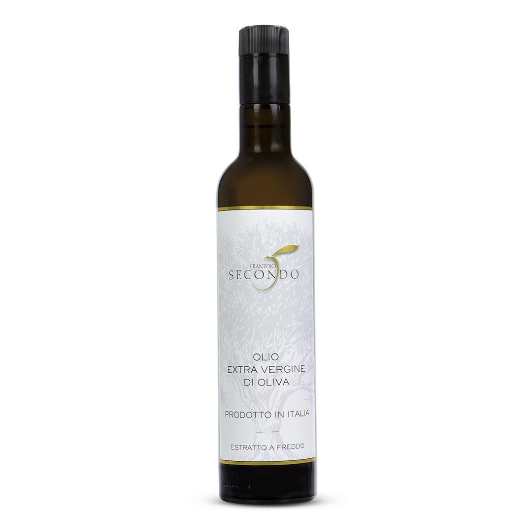 Olio extra vergine di oliva 100% italiano   Bottiglia da 0,50 lt.