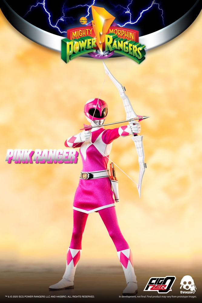 *PREORDER* Power Rangers - Mighty Morphin: PINK RANGER  by ThreeZero