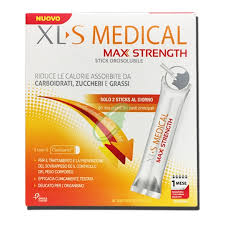 XLS Medical Max Strength Stick Orosolubile Integratore per Dimagrire