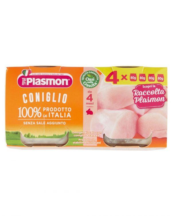 Plasmon coniglio 4x80g