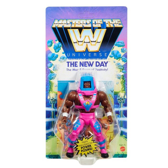 Masters of the WWE Universe: THE NEW DAY by Mattel
