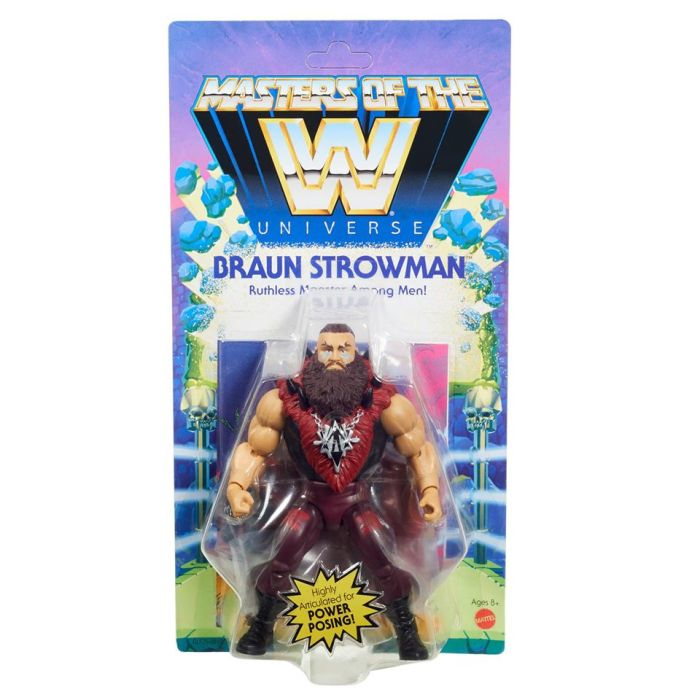 Masters of the WWE Universe: BRAUN STROWMAN by Mattel
