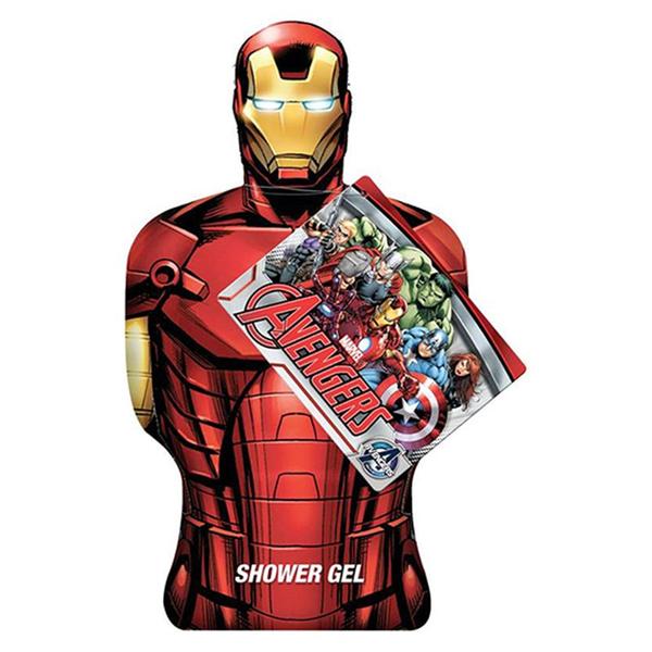 Iron Man Bagnoschiuma 3D 350 ml