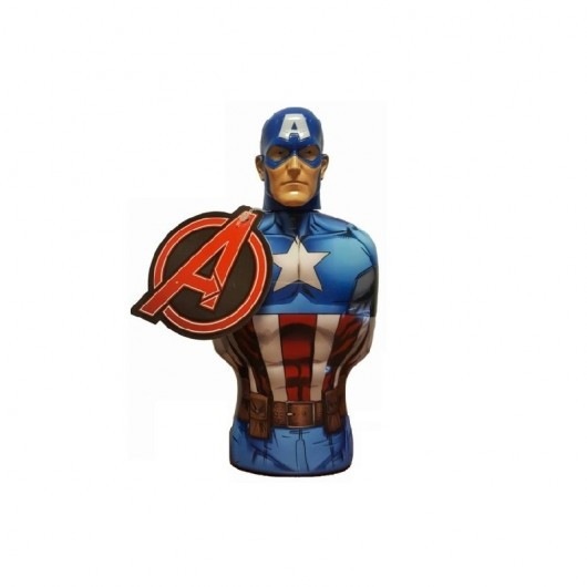 Capitan America Bagnoschiuma 3D 350 ml