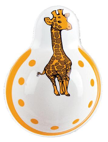 Schale Dek°  Giraffe (6stck)