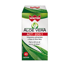 Aloe Vera ACT 200:1 40 capsule