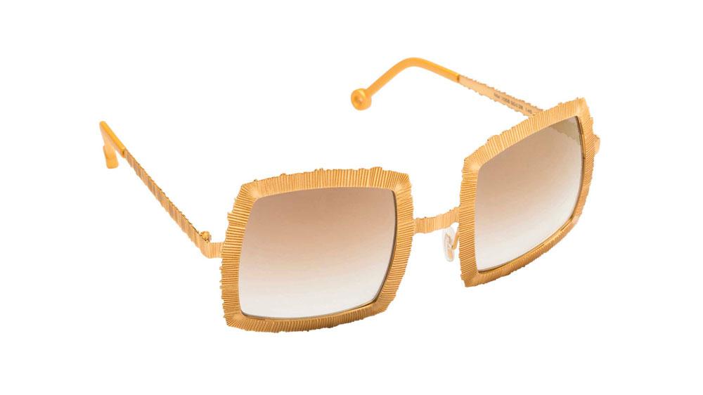 Occhiali da sole Velùdo colore oro