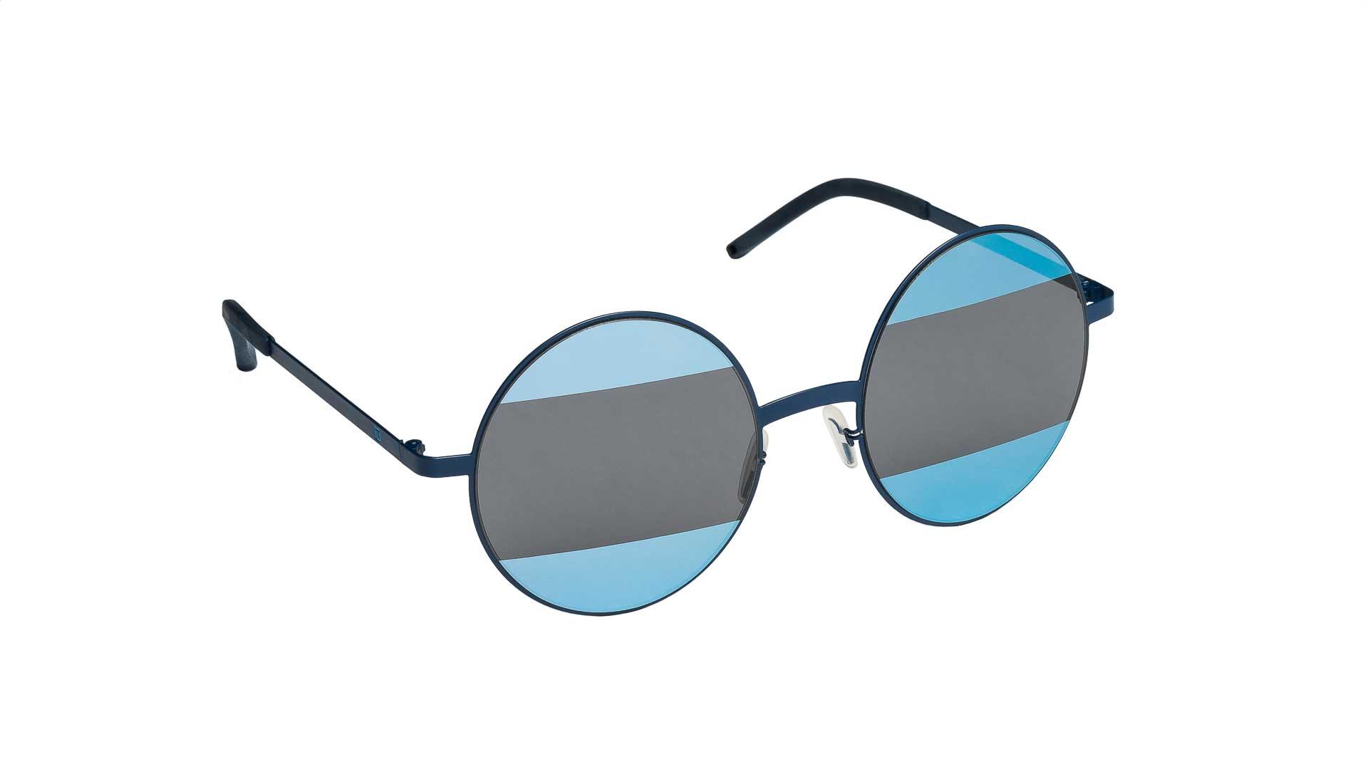 Occhiali da sole Mediterraneo colore blu