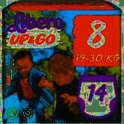 Libero Up&Go 8 - 14 mutandine