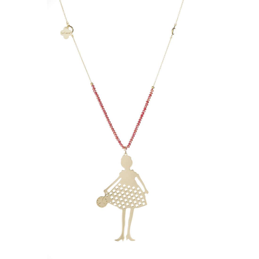 Collana donna Le Carose. Collezione Gold&Stone.