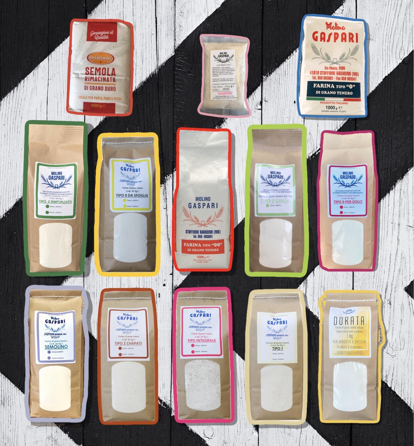 Box 2 di prova farine e lievito - Spedizione compresa