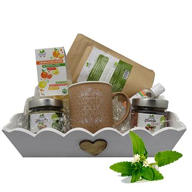 OFFERTA REGALO con la biologica Stevia e una splendida tazza.