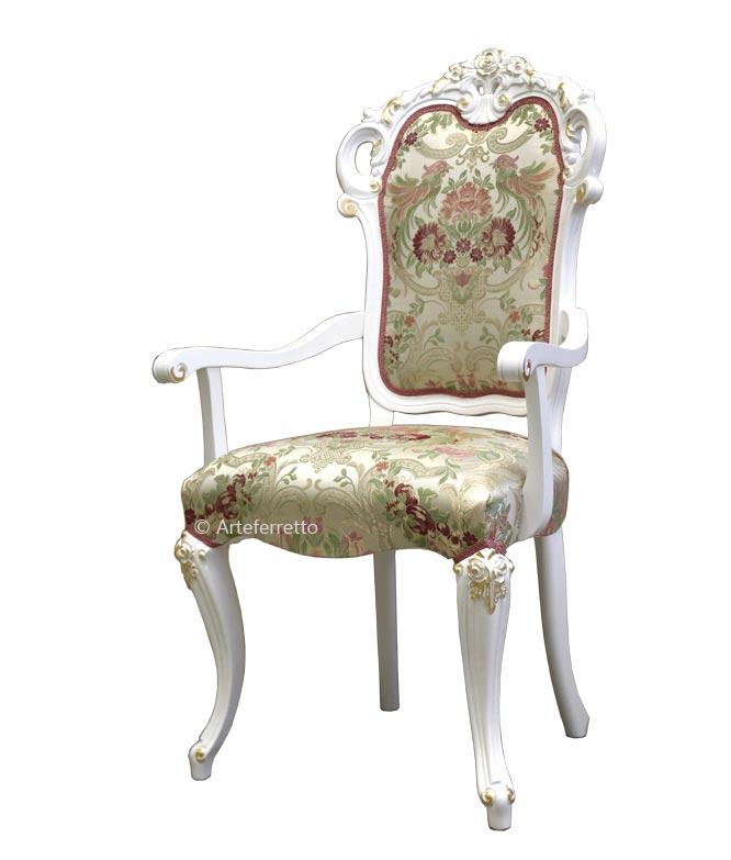 Chaise bout de table Old Venice