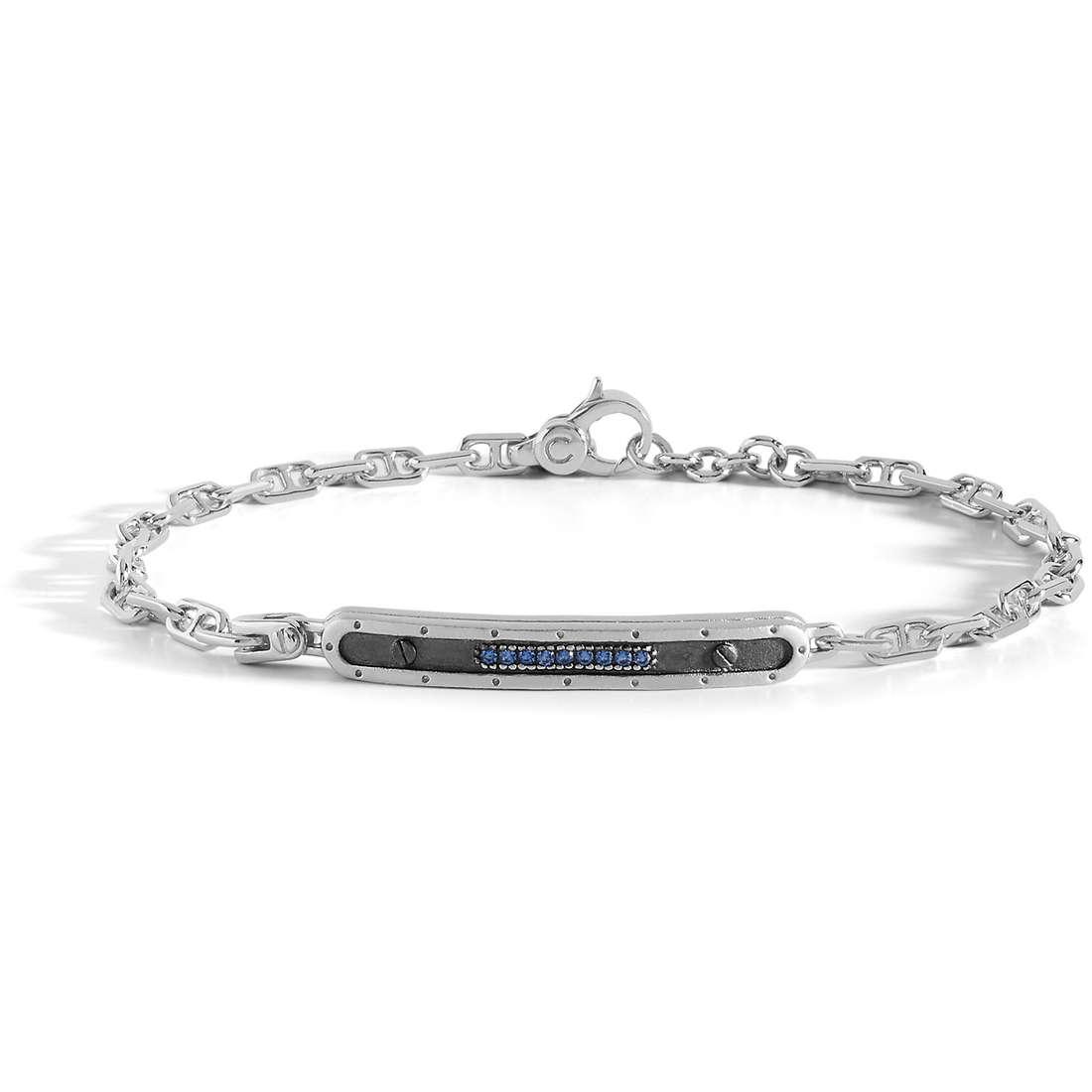 bracciale in argento uomo comete gioielli collezione volo ubr837