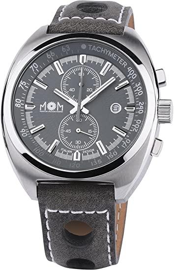 orologio crononografo uomo Mom design modello 059 Chrono