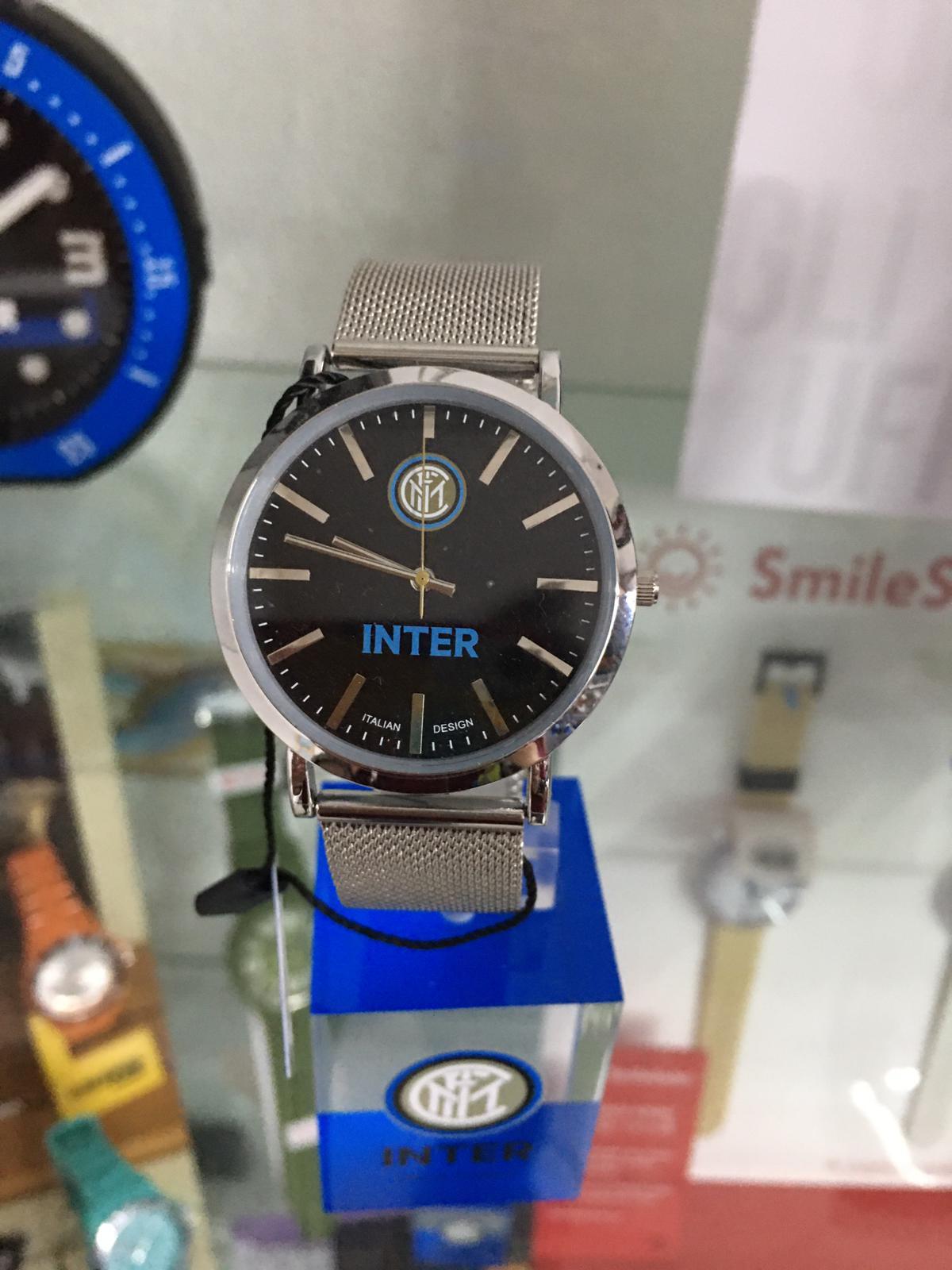 orologio ufficiale FC Inter con cinturino maglia milano
