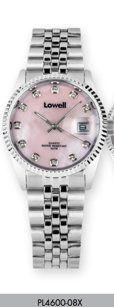 Orologio solo tempo donna Lowell con strass modello Rolex
