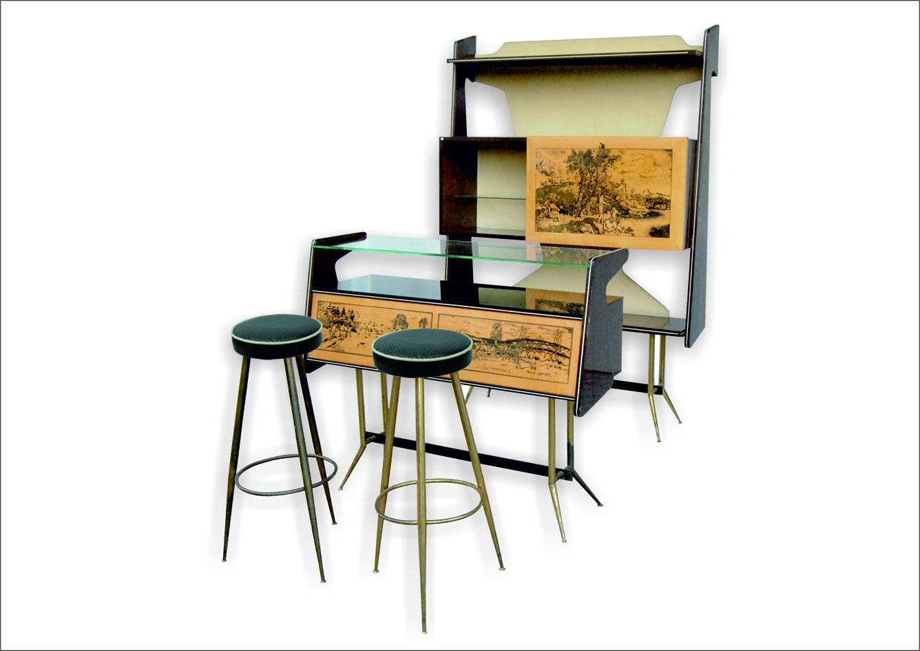 Mobile bar vintage anni '50