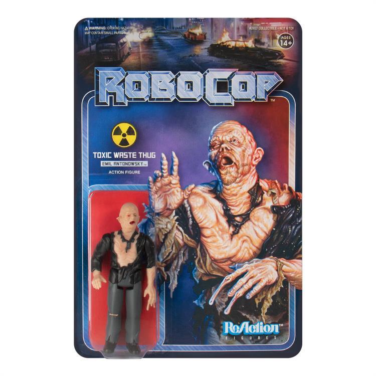 Robocop ReAction Action Figure: EMIL ANTONOWSKY by Super7