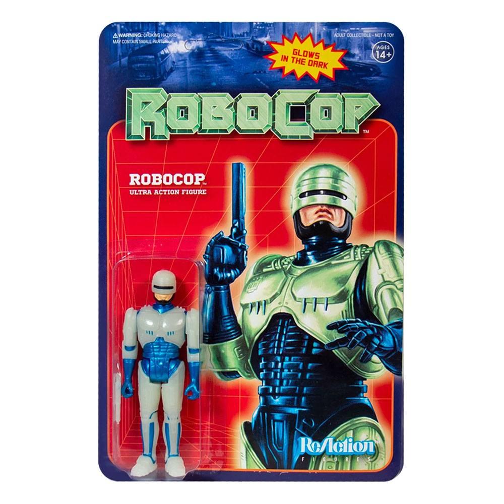 *PREORDER* Robocop ReAction: ROBOCOP - GLOW IN THE DARK by Super7