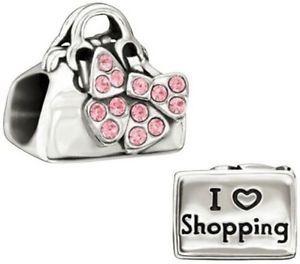 Chamilia Charm Disney Minnie I Love Shopping 2025-0986