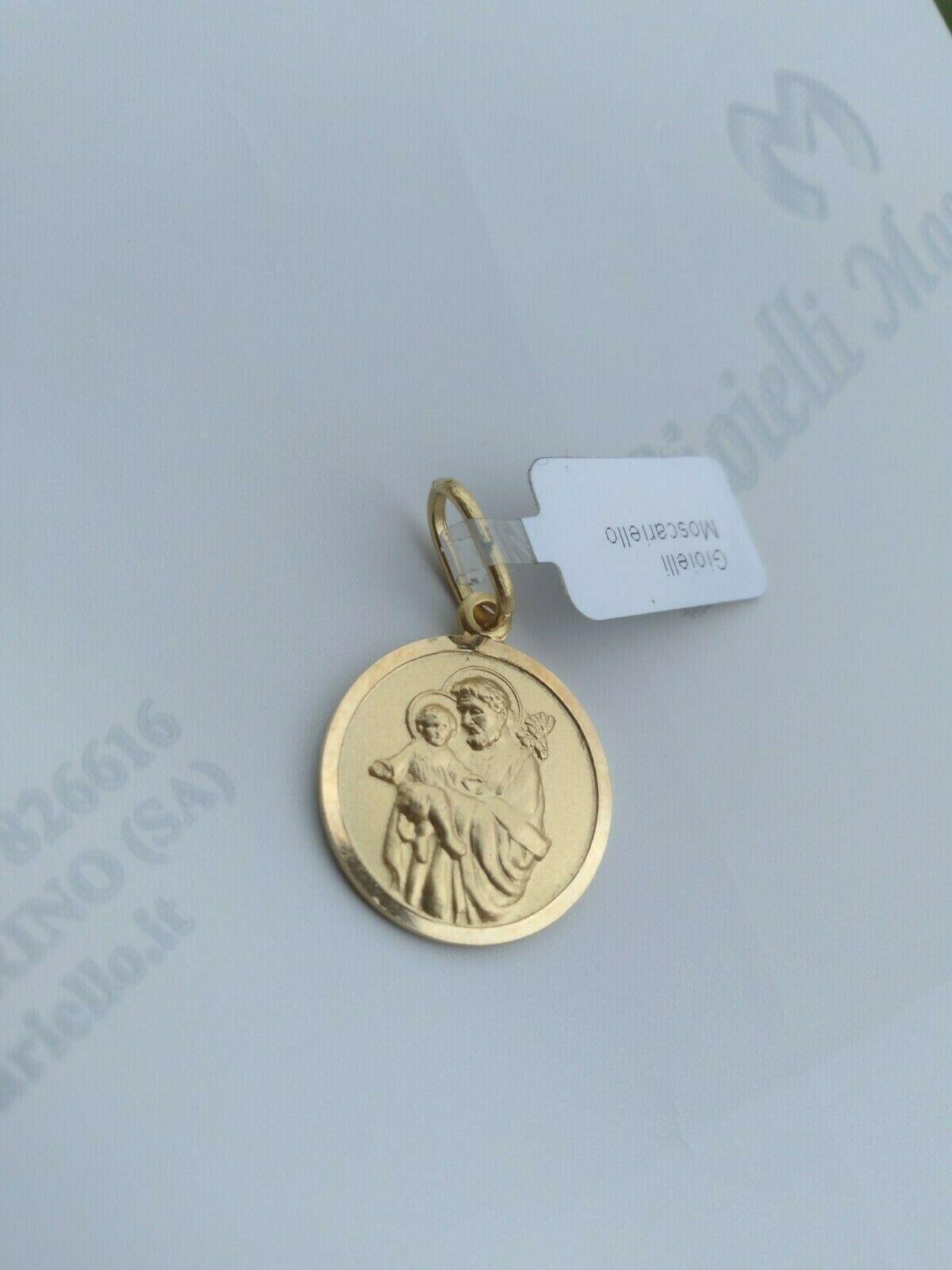 Ciondolo San Giuseppe oro giallo 18 kt 750% Pendant yellow gold 18 kt 750% 11/20